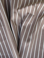 """GATSBY"" COTTON NYLON BLEND STRIPED 150CM"