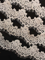 INGRID LACE TRIM 5cm wide 55%Rayon 45% Nylon