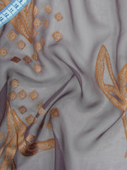 "Wedding Silk: ""NIRVANA"" 140cm Burnout"