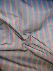 Wholesale ORGANZA: 115CM PURE SILK stripped