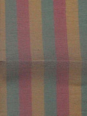 """STRIPED SILK ORGANZA"" 115cm  multi coloured Yard Dyed stripe"