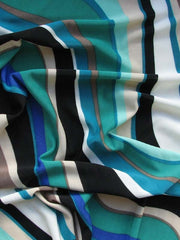 """VORTEX"" 150CM STRETCH RAYON BLEND PRINT"
