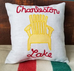 "CHARLESTON LAKE 14"" PILLOW"