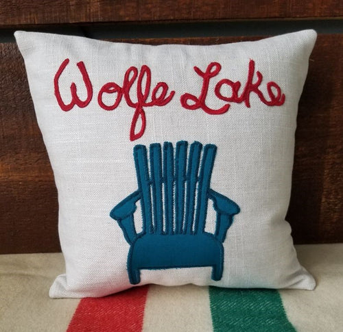 Wolfe Lake Pillow