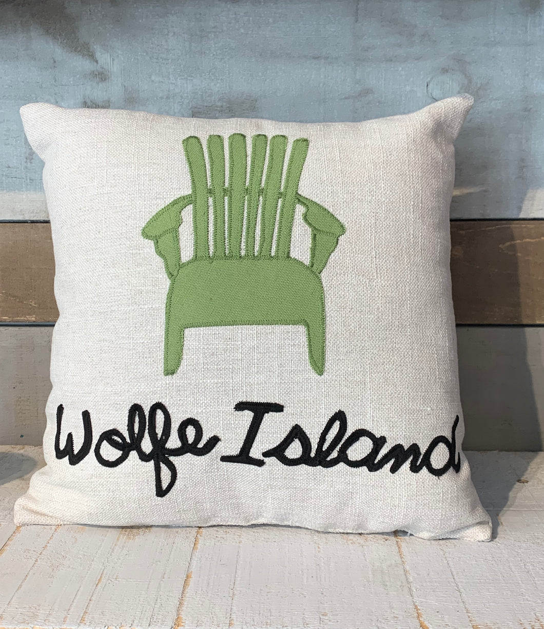 WOLFE ISLAND PILLOW