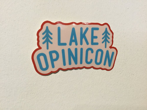 LAKE OPINICON STICKER