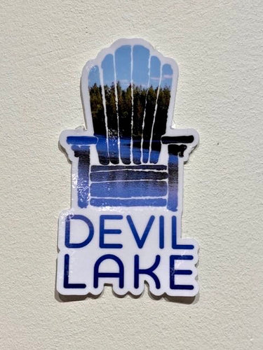 DEVIL LAKE STICKER
