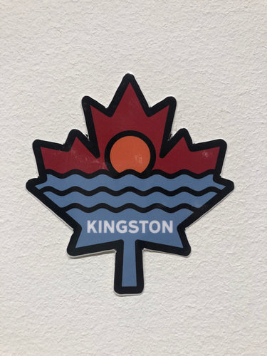 KINGSTON WATER STICKER