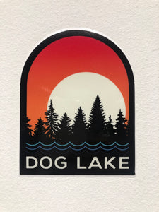 DOG LAKE STICKER