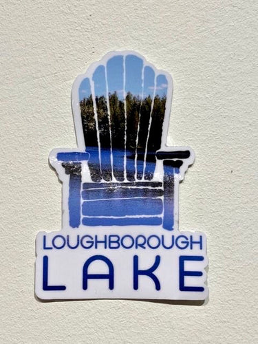 LOUGHBOROUGH CHAIR STICKER