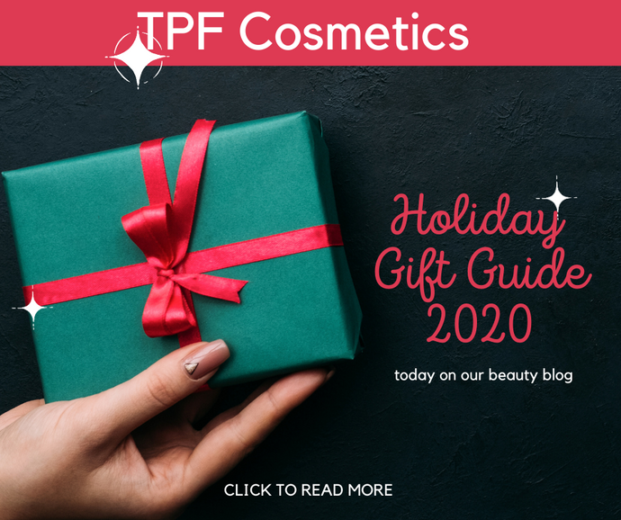 TPF Cosmetics Holiday Gift Guide 2020