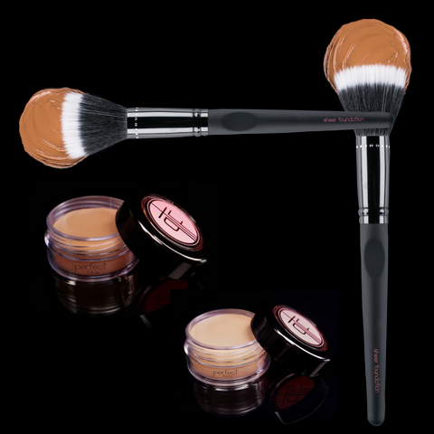 The perfect Face sheer foundation brush TPF Cosmetics Sheer foundation Brush