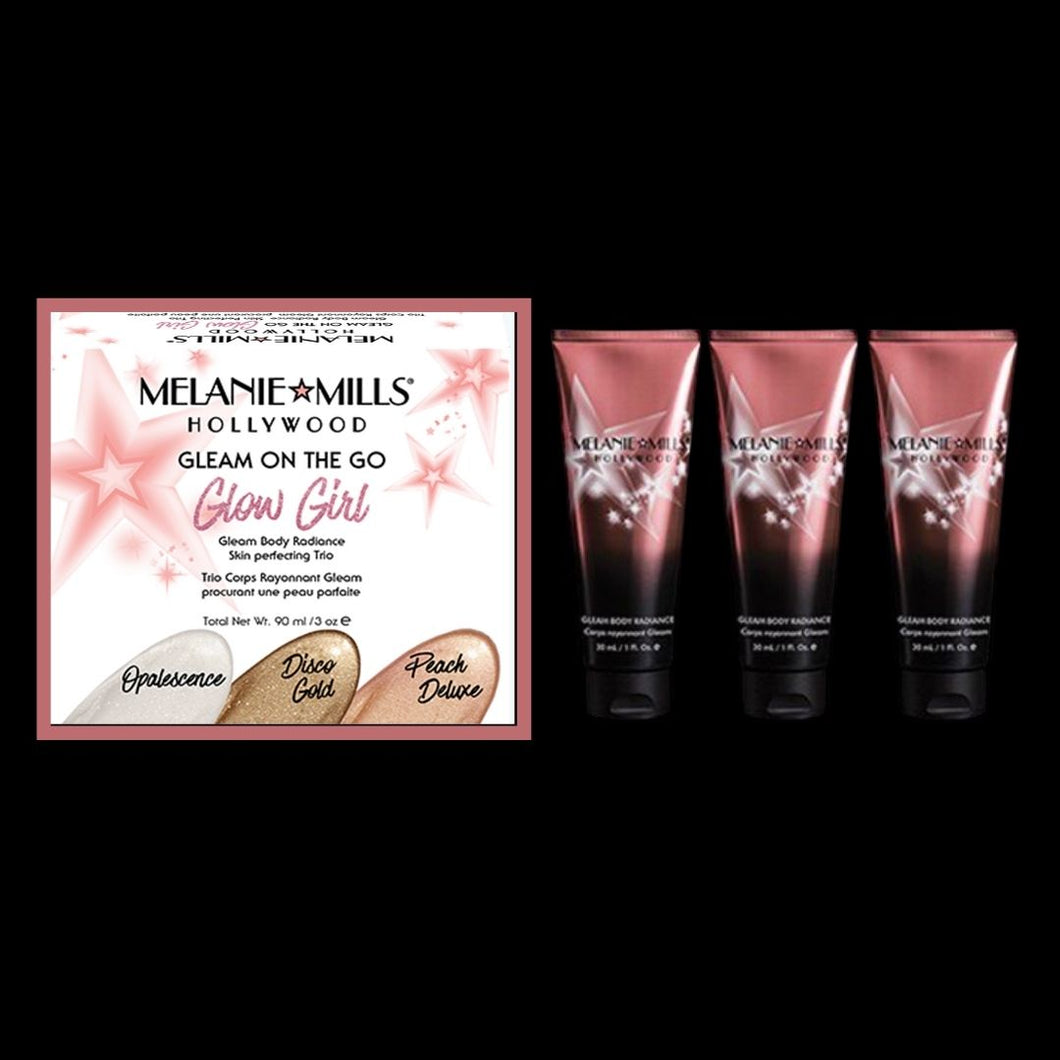 Glow Girl - Gleam On the Go Face and Body Radiance Travel Kit
