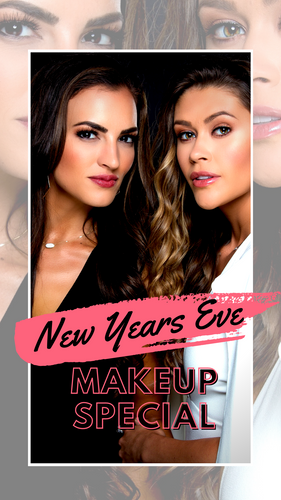 New Years Eve Makeup Special.