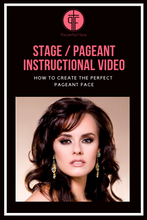 Load image into Gallery viewer, Stage/Pageant Instructional Video - Instant Download
