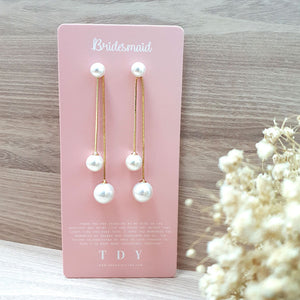 TDY Bridesmaid Gift Odell Earring