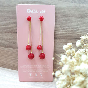 TDY Bridesmaid Gift Odetta Earring