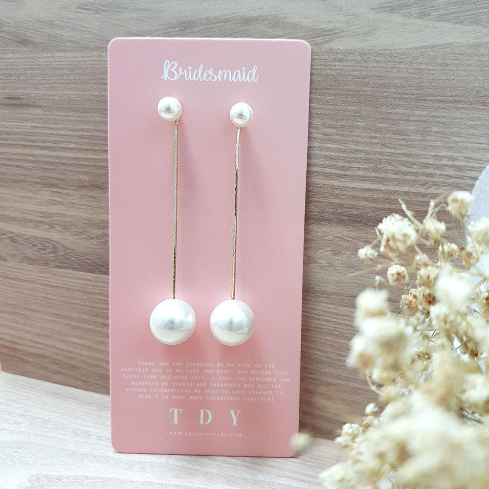 TDY Bridesmaid Gift Odonna Earring