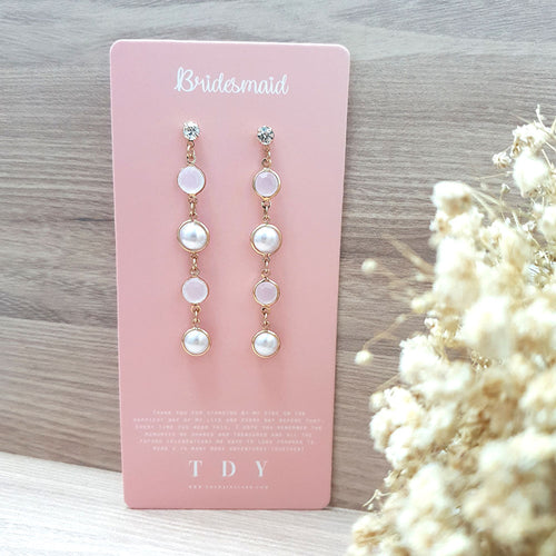 TDY Bridesmaid Gift Okena Earring