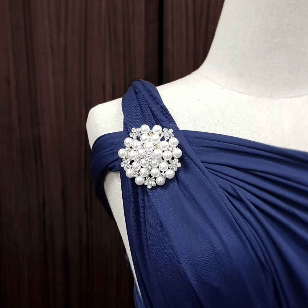 TDY Grette Dress Brooch