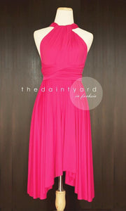 TDY Fuchsia Short Infinity Dress
