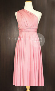 TDY Blush Short Infinity Dress