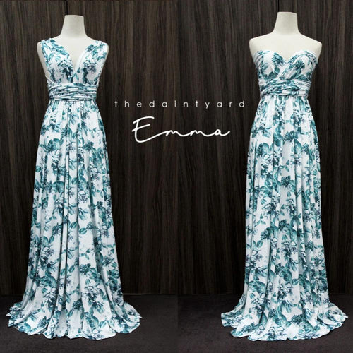 TDY Emma Floral Maxi Infinity Dress