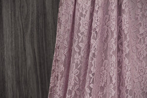 TDY Dusty Pink Maxi Infinity Lace Dress