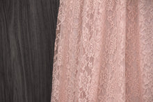 Load image into Gallery viewer, TDY Peach Maxi Infinity Lace Dress