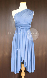TDY Periwinkle Short Infinity Dress