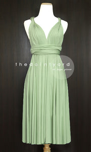 TDY Sage Green Short Infinity Dress