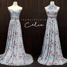 Load image into Gallery viewer, TDY Celia Floral Maxi Infinity Dress