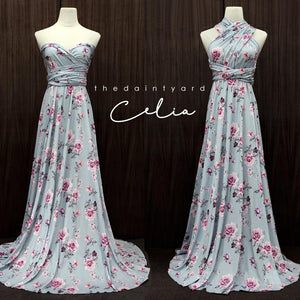 TDY Celia Floral Maxi Infinity Dress