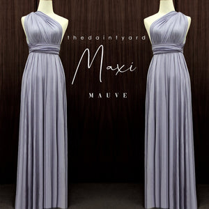TDY Mauve Maxi Infinity Dress