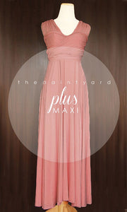 TDY Dusty Rose Maxi Infinity Dress