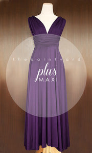 TDY Grape Maxi Infinity Dress