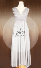 Load image into Gallery viewer, TDY Light Grey Maxi Infinity Dress