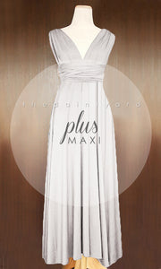 TDY Light Grey Maxi Infinity Dress