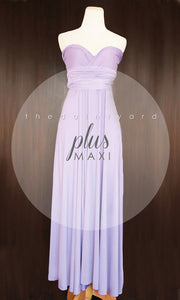 TDY Lilac Maxi Infinity Dress