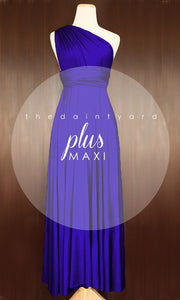 TDY Royal Blue Maxi Infinity Dress