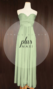 TDY Sage Green Maxi Infinity Dress