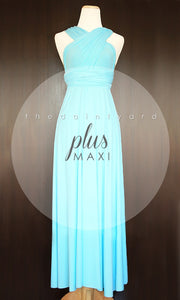 TDY Sky Blue Maxi Infinity Dress