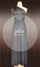 Load image into Gallery viewer, TDY Slate Grey Maxi Infinity Dress