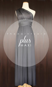 TDY Slate Grey Maxi Infinity Dress