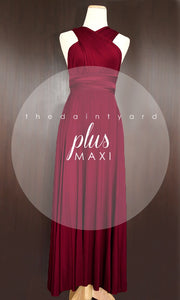 TDY Wine Red Maxi Infinity Dress