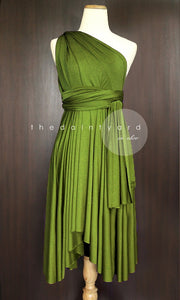 TDY Olive Short Infinity Dress