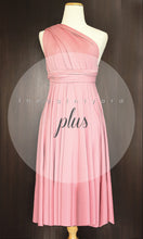 Load image into Gallery viewer, TDY Blush Short Infinity Dress