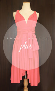 TDY Coral Short Infinity Dress