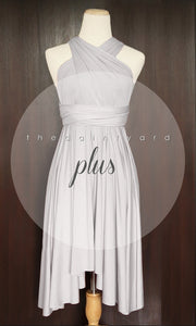 TDY Light Grey Short Infinity Dress