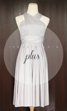 Load image into Gallery viewer, TDY Light Grey Short Infinity Dress